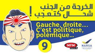 GAUCHE ,DROITE... C'EST POLITIQUE , POLÉMIQUE...